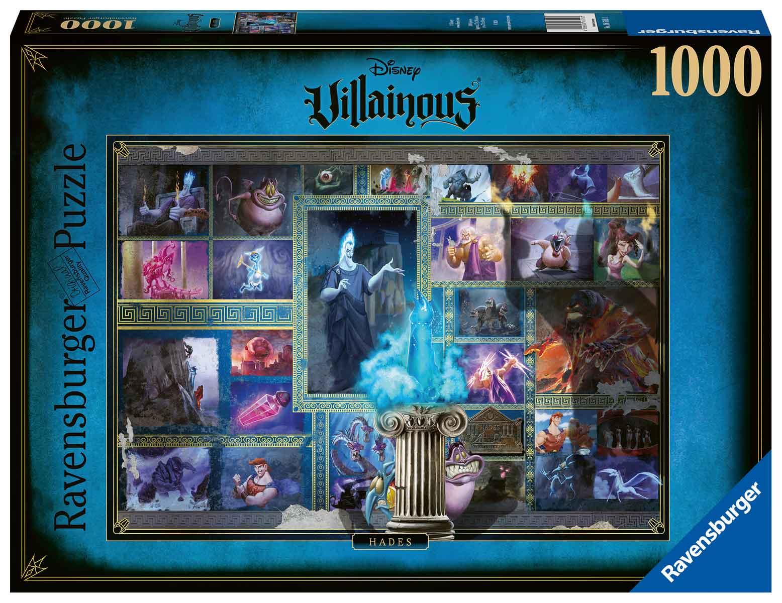Puzzle Ravensburger Villanos Disney: Hades de 1000 Piezas