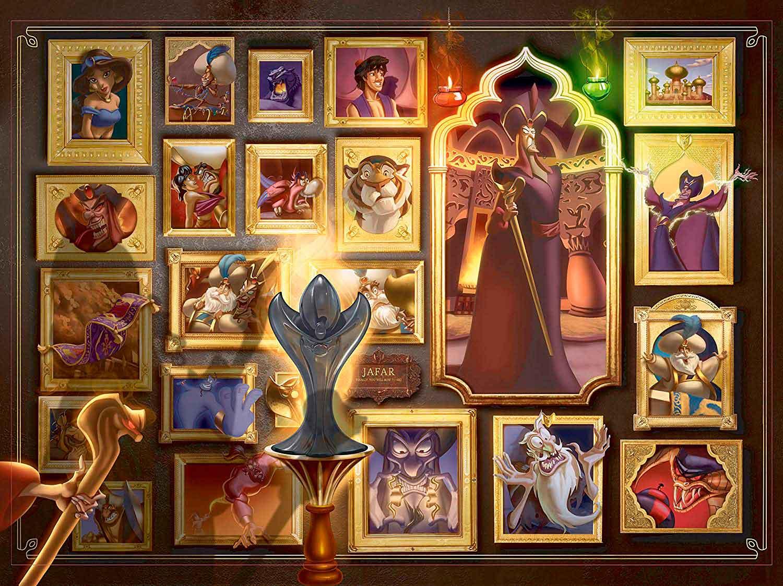 Puzzle Ravensburger Villanos Disney: Jafar de 1000 Piezas