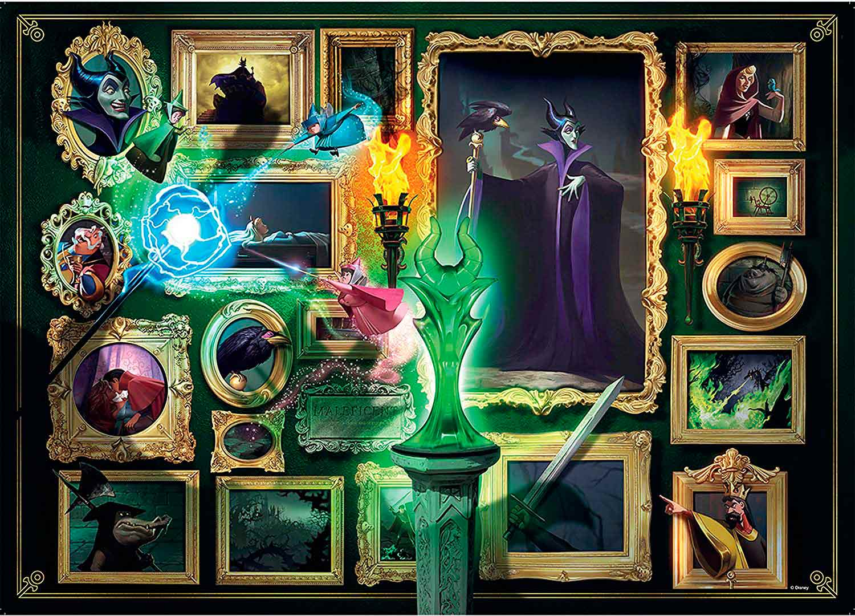 Puzzle Ravensburger Villanos Disney: Maléfica de 1000 Piezas