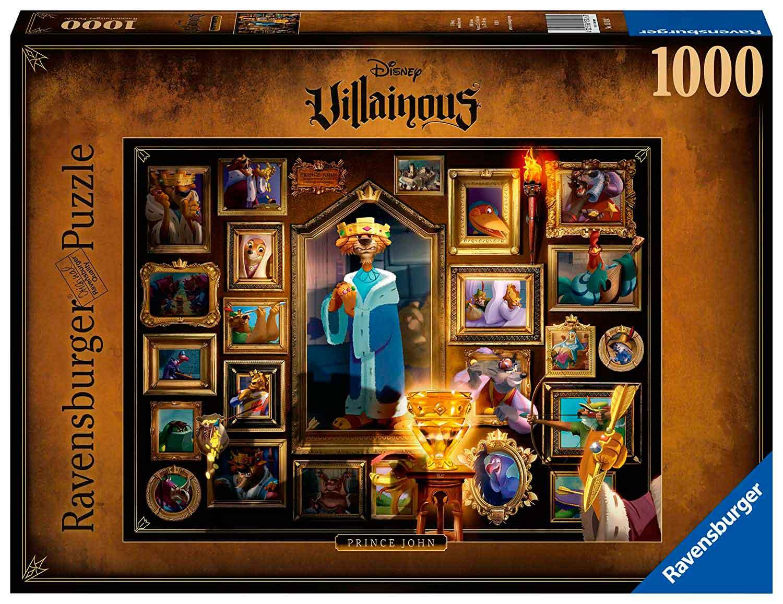 Puzzle Ravensburger Villanos Disney: Principe Juan de 1000 Pzs