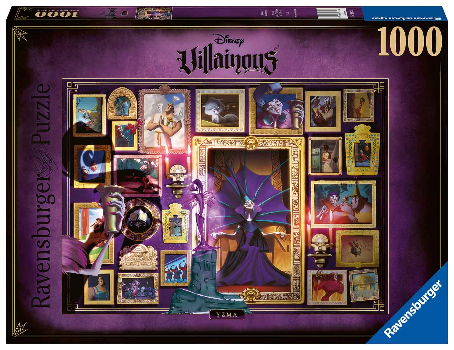 Puzzle Ravensburger Villanos Disney: Yzma de 1000 Piezas