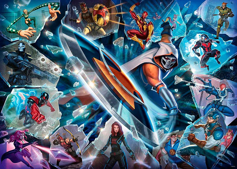 Puzzle Ravensburger Villanos Marvel: Taskmaster de 1000 Piezas