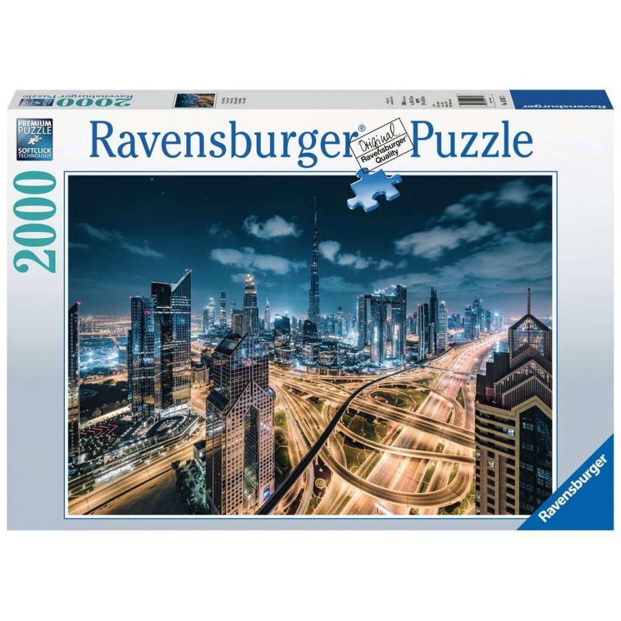 Puzzle Ravensburger Vista de Dubai de 2000 Piezas
