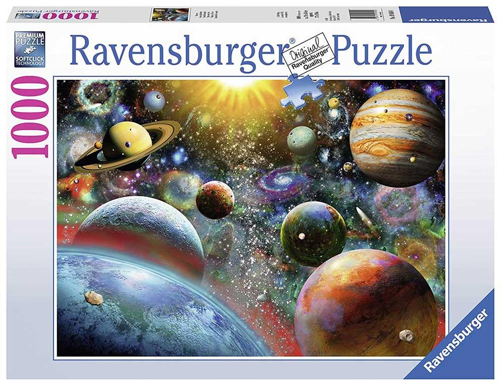 Puzzle Ravensburger Vista Desde el Espacio de 1000 Piezas