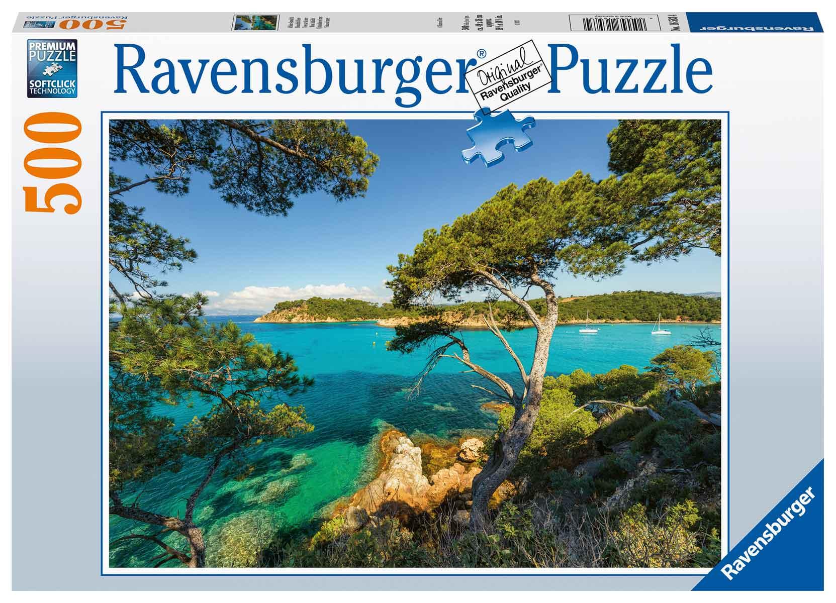 Puzzle Ravensburger Vista Marítima de 500 Piezas