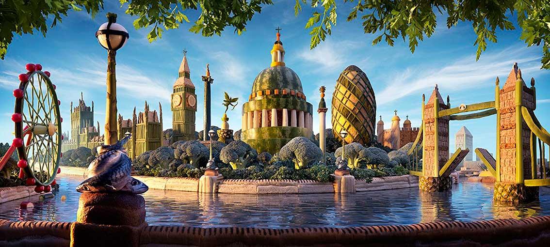 Puzzle Ravensburger Vista Vegetal de Londres de 1000 Piezas