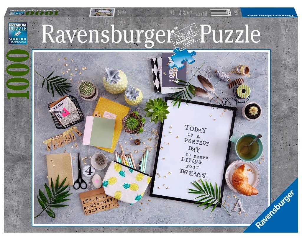 Puzzle Ravensburger Vive tu Sueño de 1000 Piezas