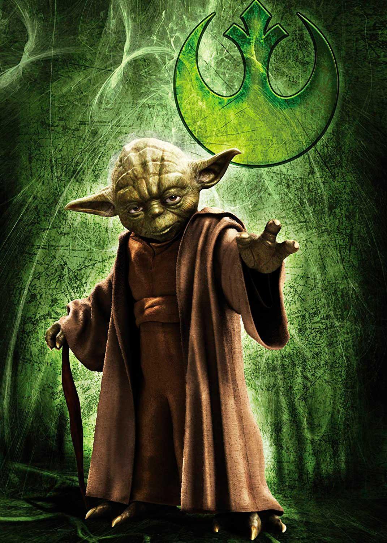 Puzzle Ravensburger Yoda Star Wars de 1000 Piezas