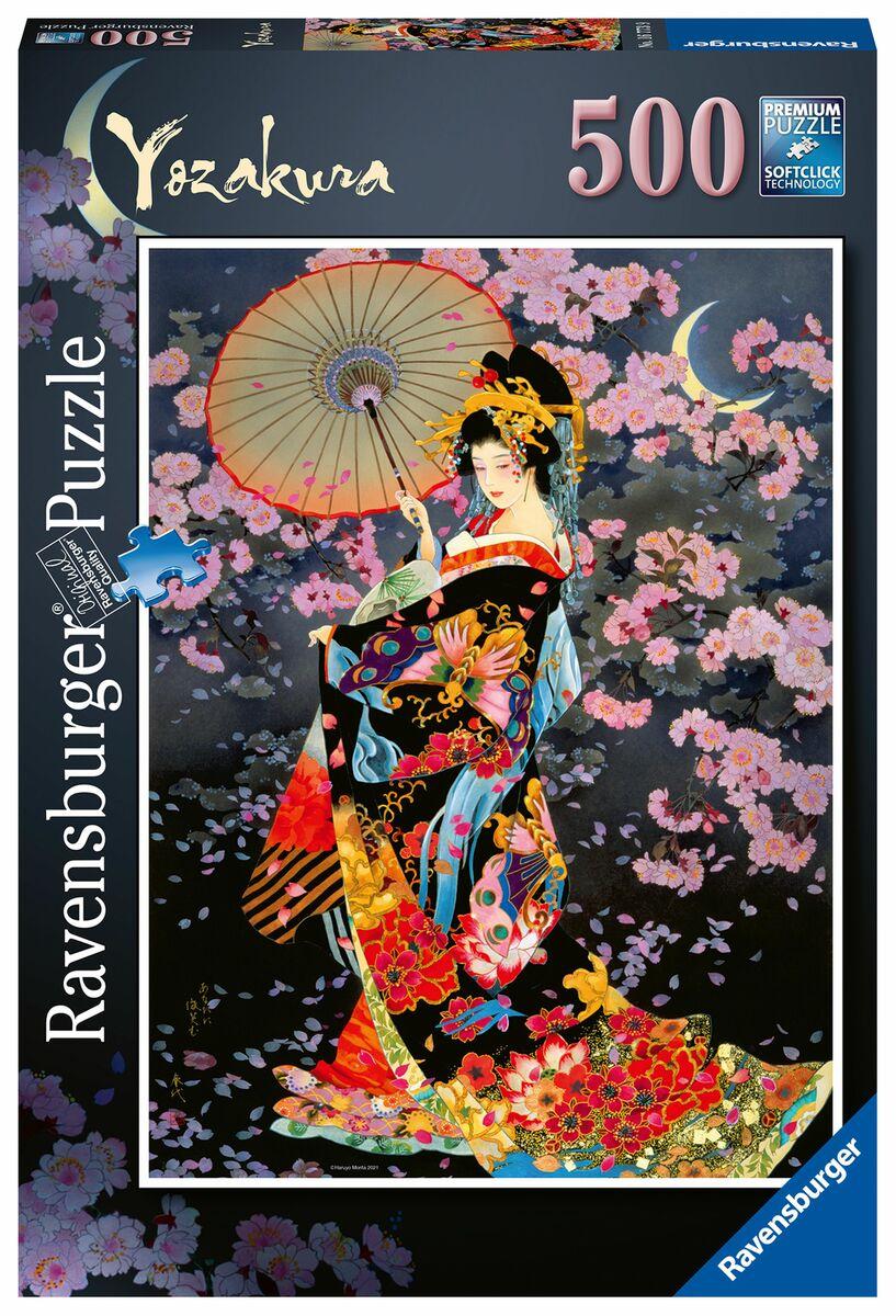 Puzzle Ravensburger Yozakura de 500 Piezas