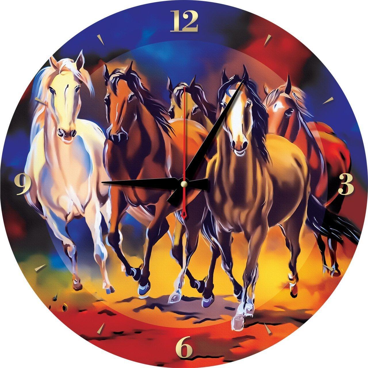 Puzzle Reloj Art Puzzle Caballos Jades 570 Piezas