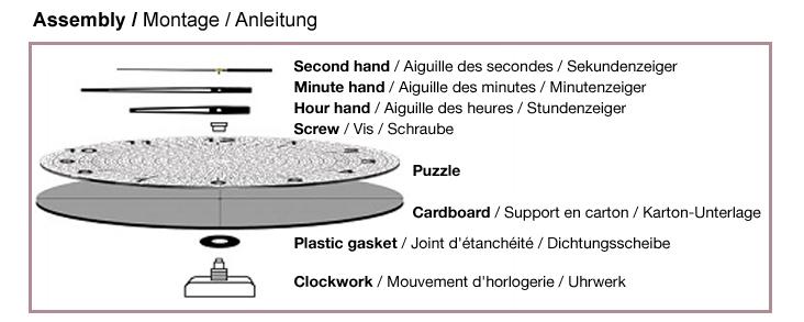 Puzzle Reloj Art Puzzle Torre de la Doncella  de 570 Piezas