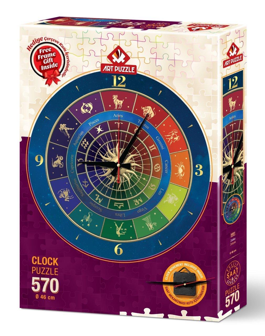 Puzzle Reloj Art Puzzle Zodiaco 570 Piezas