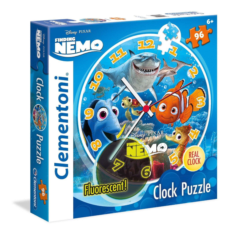 Puzzle Reloj Clementoni Buscando a Nemo de 96 Piezas