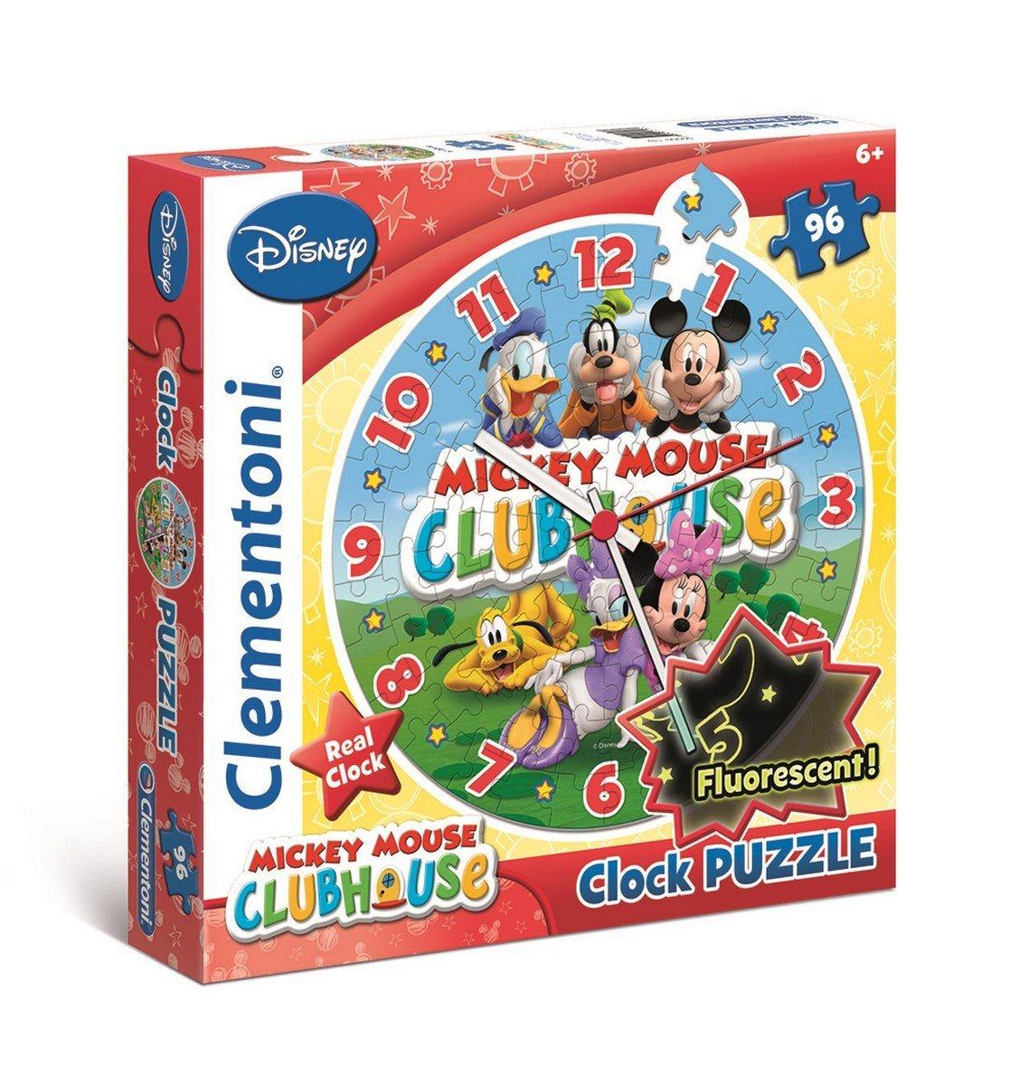Puzzle Reloj Clementoni La Casa de Mikey Mouse de 96 Piezas