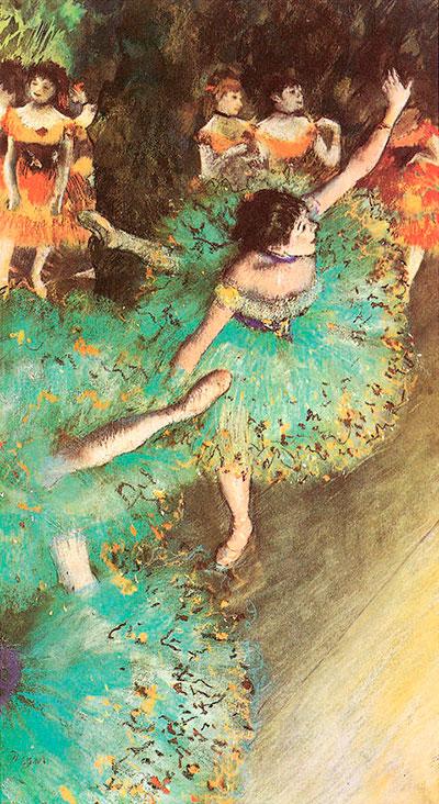 Puzzle Ricordi Bailarina Verde de 1500 Piezas