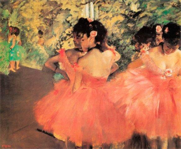 Puzzle Ricordi Bailarinas en Rosa de 1500 Piezas
