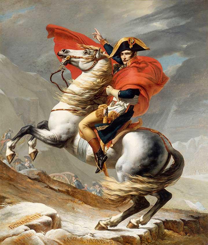 Puzzle Ricordi Bonaparte Cruzando Paso Saint-Bernard 1500 pzas