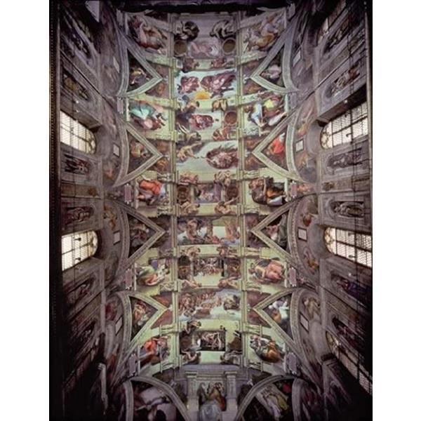 Puzzle Ricordi Bóvedas de la Capilla Sixtina de 1500 Piezas