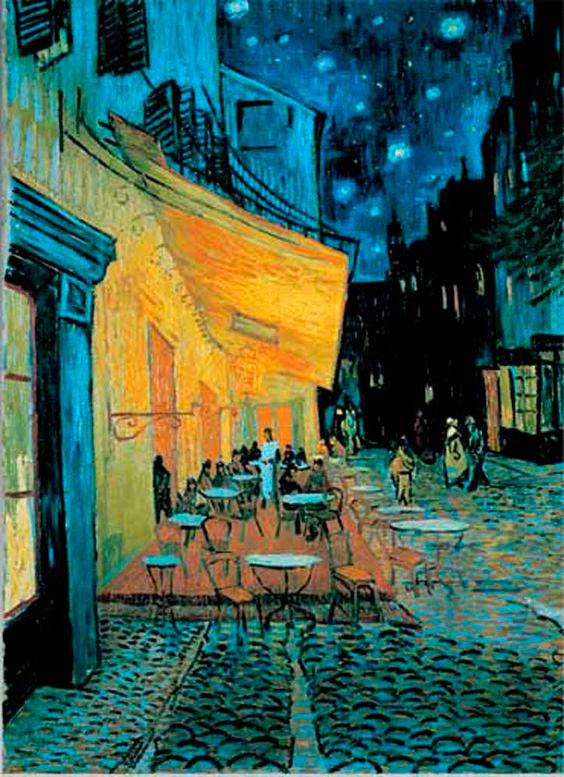 Puzzle Ricordi Café de Noche de 1500 Piezas