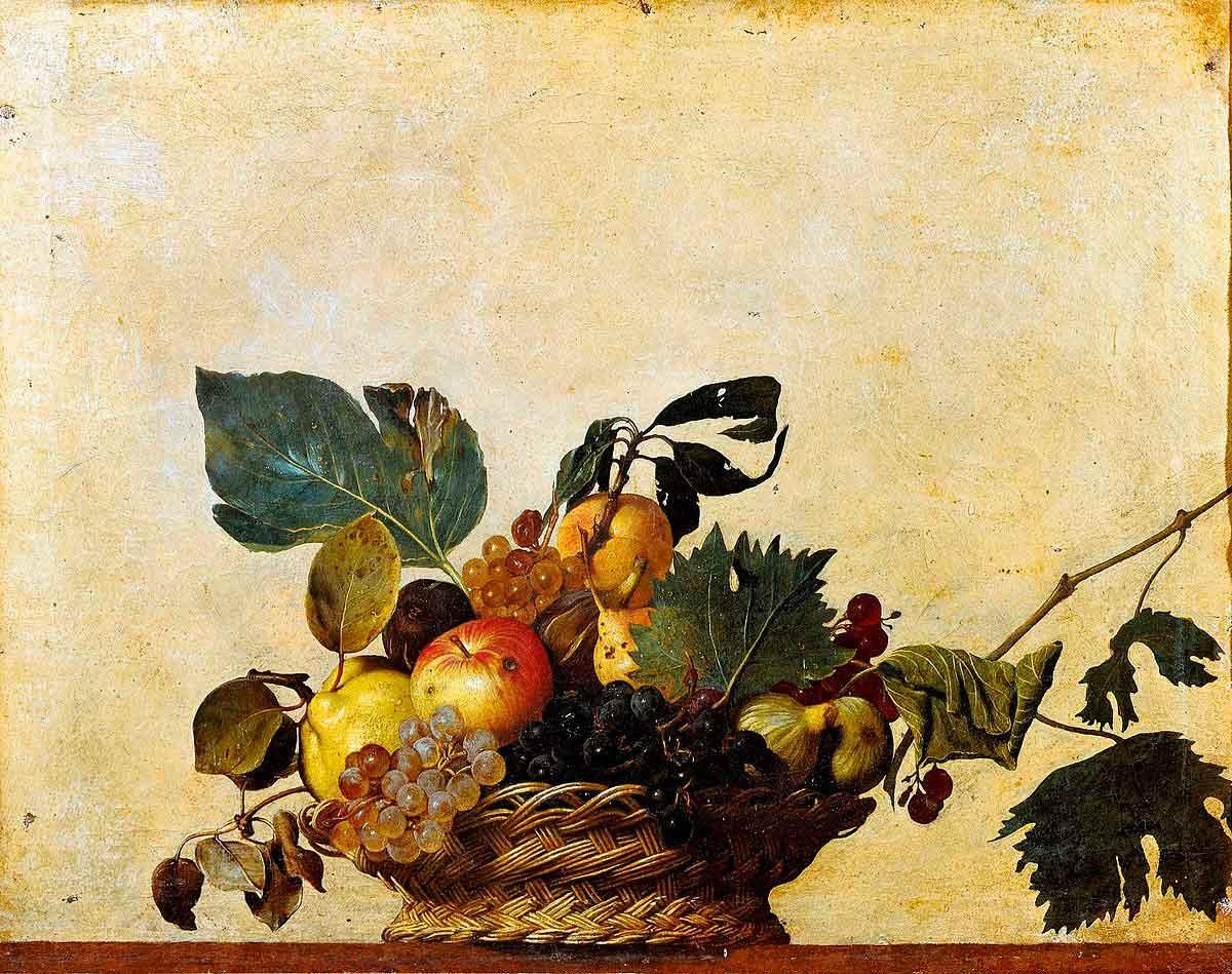 Puzzle Ricordi Cesto con Frutas de 1000 Piezas
