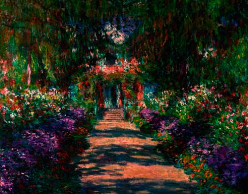 Puzzle Ricordi El Jardín de Monet de 1500 Piezas