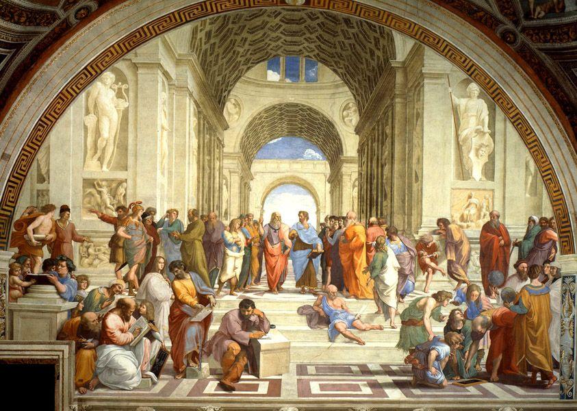 Puzzle Ricordi Escuela de Atenas de 1500 piezas