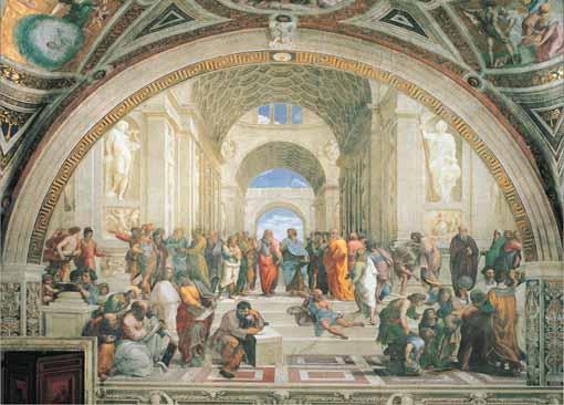 Puzzle Ricordi Escuela de Atenas de 2000 Piezas