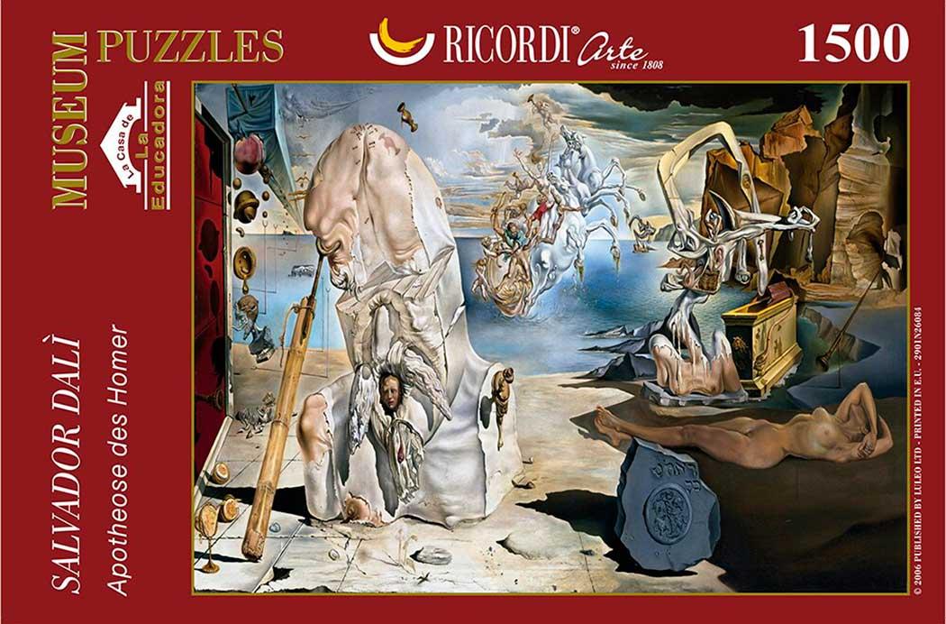 Puzzle Ricordi La Apoteosis de Homero de 1500 Piezas