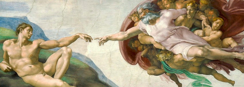 Puzzle Ricordi La Creación de Adán de 1000 Piezas