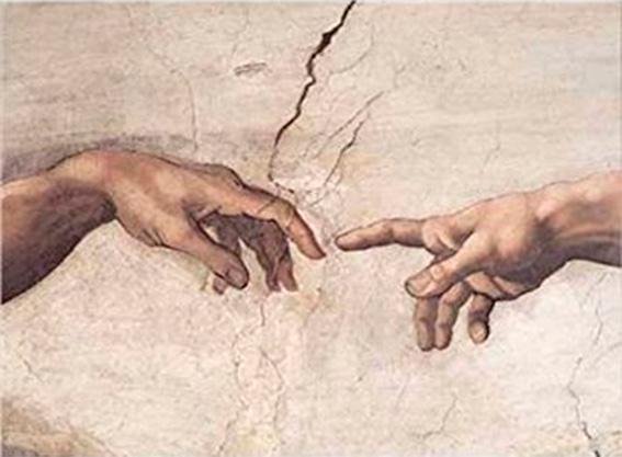 Puzzle Ricordi La Creación de Adán Detalle de 1500 Piezas