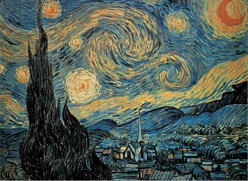 Puzzle Ricordi La Noche Estrellada de 1000 Piezas