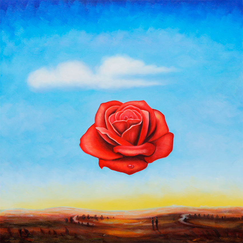Puzzle Ricordi La Rosa Meditativa de 1000 Piezas