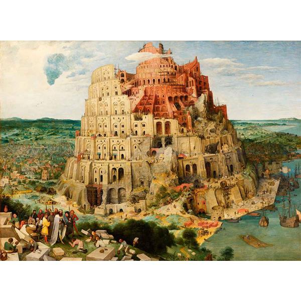 Puzzle Ricordi La Torre de Babel de 1000 Piezas