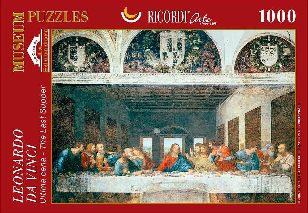 Puzzle Ricordi La Última Cena de 1000 Piezas