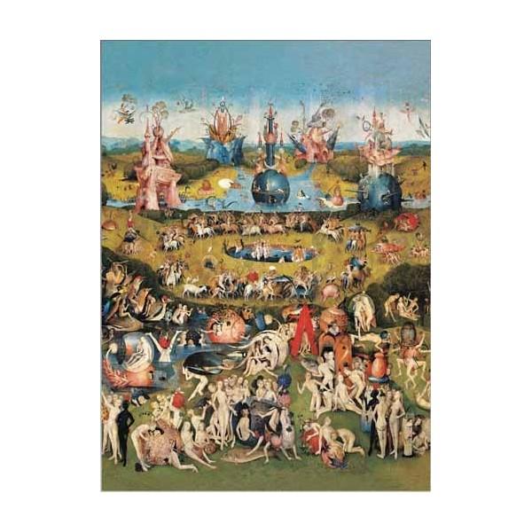 Puzzle Ricordi El Jardín de las Delicias de 1000 Piezas