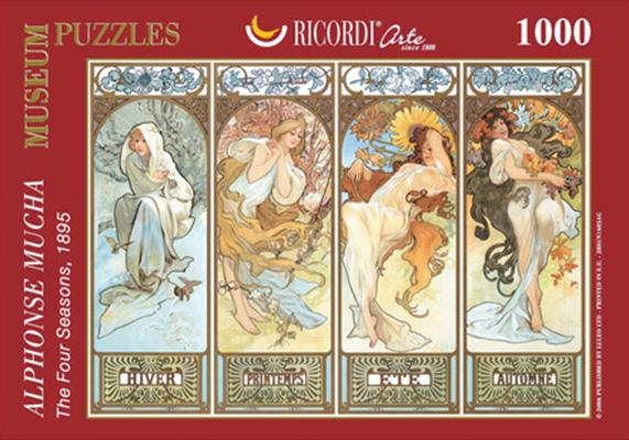 Puzzle Ricordi Las Cuatro Estaciones de 1000 Piezas