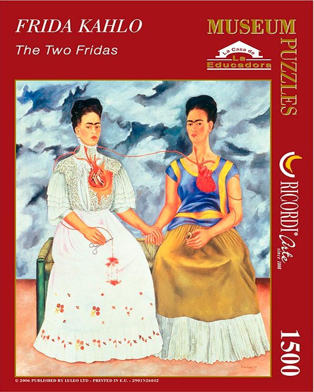 Puzzle Ricordi Las dos Fridas de 1500 piezas
