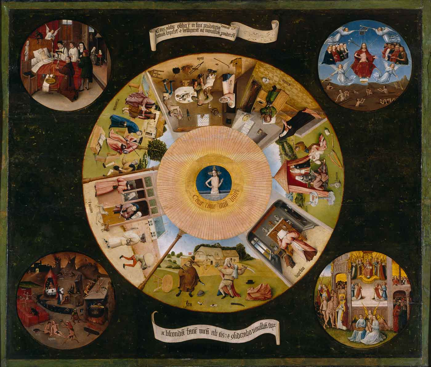 Puzzle Ricordi Los Siete Pecados Capitales 1500 Piezas