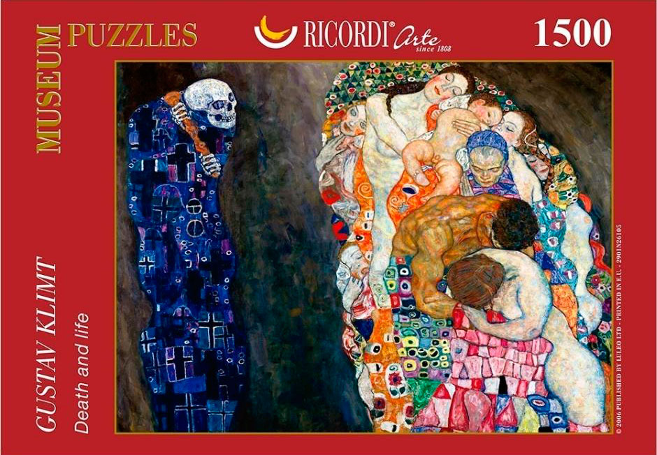 Puzzle Ricordi Muerte y Vida de 1500 piezas