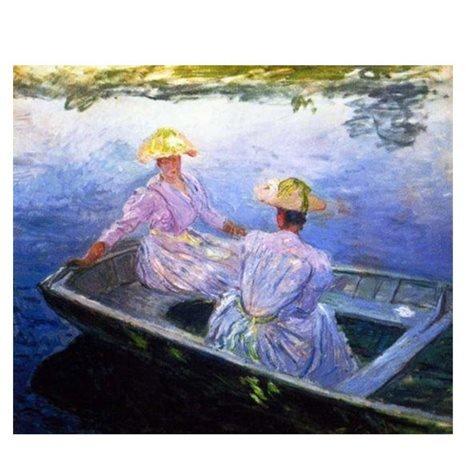 Puzzle Ricordi Mujeres en la Barca de 1000 Piezas