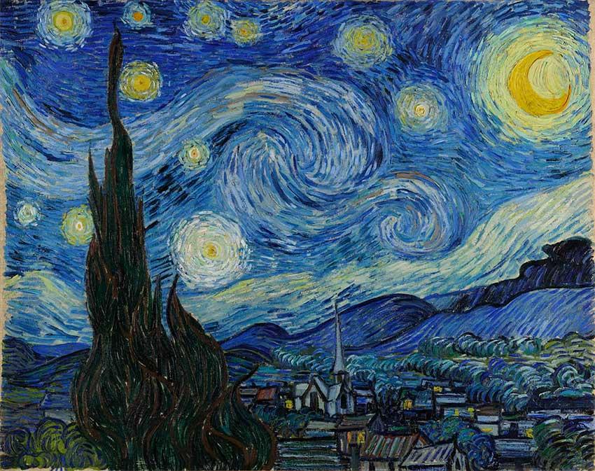 Puzzle Ricordi Noche Estrellada de 1500 Piezas