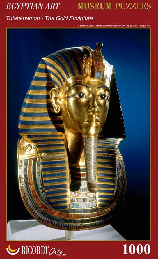 Puzzle Ricordi Tutankhamon La Escultura de Oro de 1000 Pzs