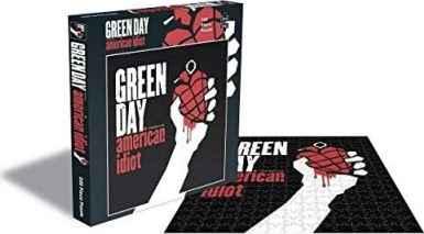 Puzzle Rock Saws American Idiot, Green Day de 500 Piezas