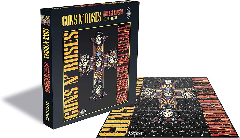 Puzzle Rock Saws Appetite for Destruction, Guns N 'Roses  500p