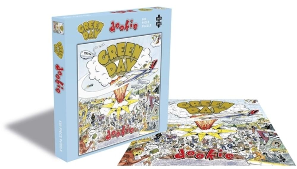 Puzzle Rock Saws Dookie, Green Day de 500 Piezas