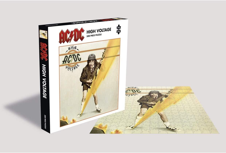 Puzzle Rock Saws High Voltage, AC/DC de 500 Piezas