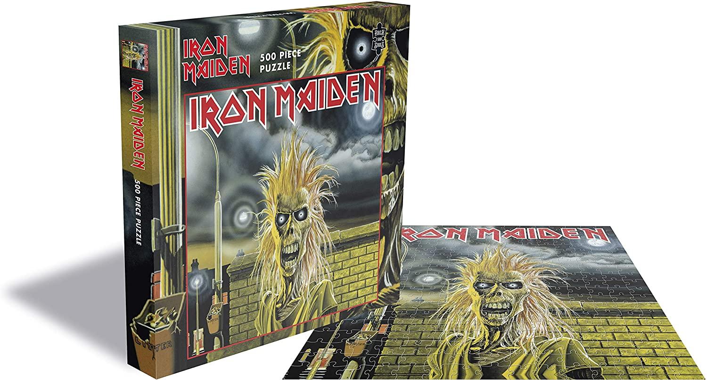 Puzzle Rock Saws Iron Maiden, Iron Maiden de 500 Piezas