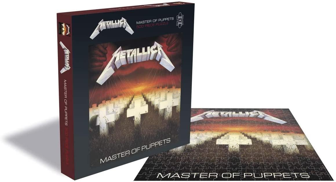 Puzzle Rock Saws Master of Puppets, Metallica de 500 Piezas