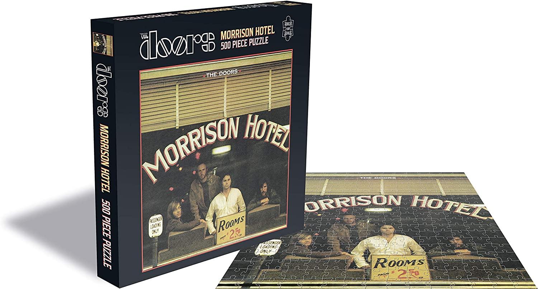 Puzzle Rock Saws Morrison Hotel, The Doors de 500 Piezas