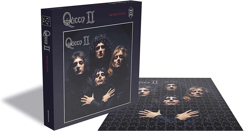 Puzzle Rock Saws Queen II, Queen de 500 Piezas